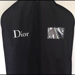 1 DIOR Black Garment Bag Pick from  Various Sizes